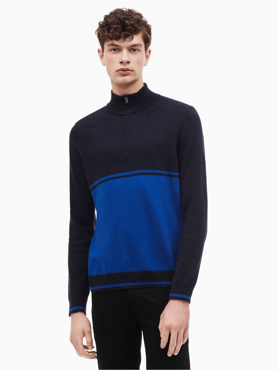 USOutlet.vn-CK-COLORBLOCK QUARTER ZIP SWEATER-01
